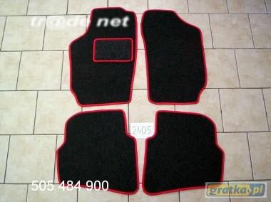 Seat Cordoba IV od 2002r. najwyższej jakości dywaniki samochodowe z grubego weluru z gumą od spodu, dedykowane SEAT Cordoba-1