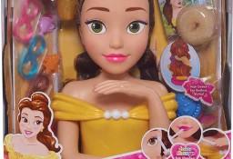 Belle Głowa do Czesania Stylizacji Wizaż 30cm. Manicure Piękna i Bestia