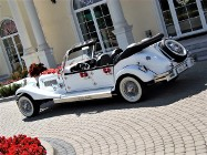 Wypożyczalnia samochodów zabytkowych do ślubu Auta RETRO do wynajęcia na wesele Luksusowe samochody ślubne Limuzyny weselne Kabriolet Nestor Baron