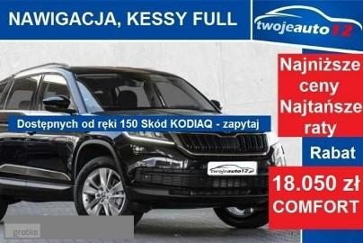 Skoda Kodiaq Ambition 2,0 TDI 150KM manual 4x4, podgrzewane fotele, przednia szyb