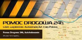 POMOC DROGOWA 24h, AUTOHOLOWANIE TRANSPORT ŁÓDŹ, WARSZAWA, CAŁA POLSKA