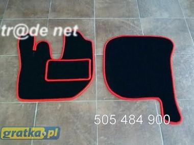 DAF LF najwyższej jakości dywaniki samochodowe z grubego weluru z gumą od spodu, dedykowane Daf-1