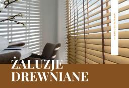 Żaluzje Drewniane Kraków | 4 Lata Gwarancji | Pomiar/Montaż
