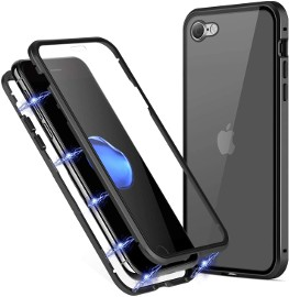Etui Magnetyczne Szkło 360° do iPhone 7/ 8/ SE2020