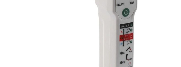 Termometr bezdotykowy z sondą do 275°C HACCP-1