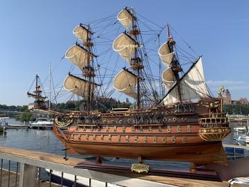 Drewniana replika statku SAN FELIPE 97cm