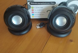 Głośniki stereo 3W zasil. USB