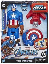 Figurka Avengers Kapitan Ameryka Titan Hero Blast Gear