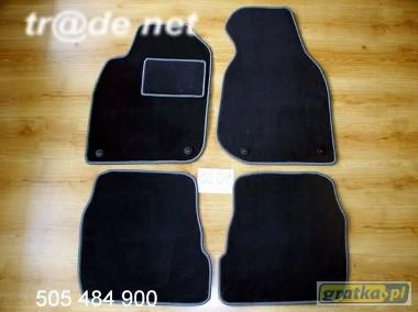 AUDI A6 C5 sedan 1997 - 2004 najwyższej jakości dywaniki samochodowe z grubego weluru z gumą od spodu, dedykowane Audi A6-1