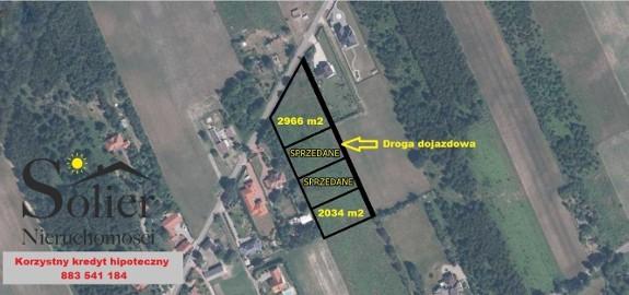 Działka budowlana Dobieszków, ul. Zbuduj Dom na 1 z 2 Działek w Gminie Nowosolna