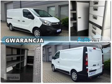 Opel Vivaro / Renault Trafic KLIMA Webasto HAK WARSZTAT/REGAŁY