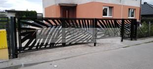Ogrodzenie CNC Nowoczesne Przęsła Frontowe