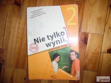 ,, Nie tylko wyniki'' kl2 podrecznik do gimnazjum