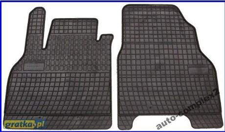 Oferujemy Panstwu dywaniki gumowe w kolorze czarnym idealnie dopasowane do samochodu: RENAULT KANGOO 2 5-OSOBOWY ROCZNIKI: 2008-... Dywaniki te sa produkcji polskiej Dedykowane pod dany model auta Zaletami tych dywanikow sa miedzy innymi: - w Renault Kangoo