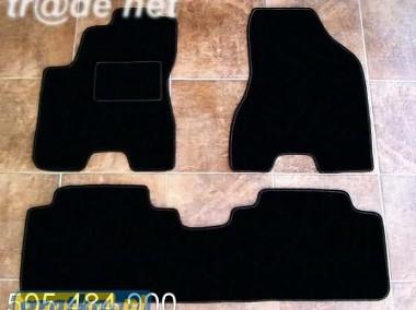 Hyundai Tucson od 2005 do 2015 r. najwyższej jakości dywaniki samochodowe z grubego weluru z gumą od spodu, dedykowane Hyundai Tucson-1