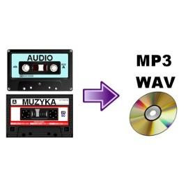 Przegrywanie kopiowanie kaset magnetofonowych na płyty CD lub do plików MP3 - Kraków
