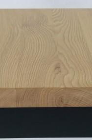 stół Luigi - dębowy olejowany blat z litego drewna-2