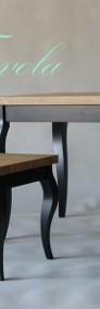 stół Luigi - dębowy olejowany blat z litego drewna-4