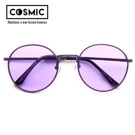 Okulary Brett Color Tinted Metal Round Sunglasses Purple/Purple