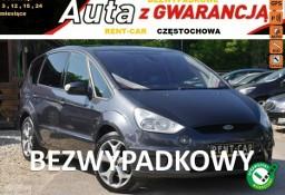 Ford S-MAX 125PS*TiTANiUM*OPŁACONY*Bezwypadkowy*Klima*Navi*Skóra*GWARANCJA24M