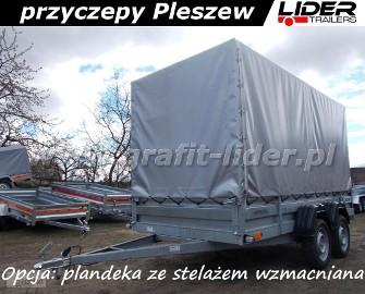ZS-001 przyczepa Zasław 330T, 330x150x35, towarowa lekka, DMC 750kg Zasław