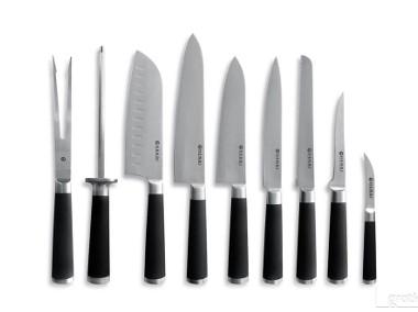 Zestaw noży kuchennych 9 noży + etui Edycja Kurt Scheller Hendi-1