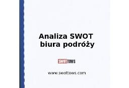 Analiza SWOT biura podróży