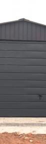 Garaż blaszany 4x6 dwuspadowy blacha w kolorze -4