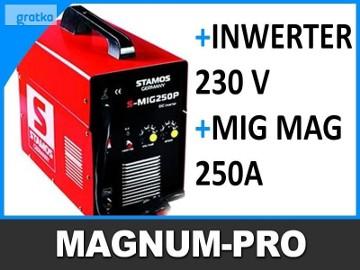 Migomat 250A MIG MAG spawarka półautomat