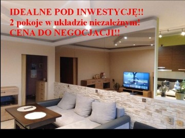 Mieszkanie Poznań Centrum, ul. Idealne Pod Inwestycję 2 Niezależne Pokoje