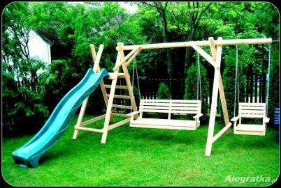 meble ogrodowe plac zabaw zjezdzalnia 3m
