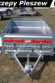 TM-242 przyczepa + wzmocnienia burt 263x125x46cm, Prakti 2612/2, lekka, towarowa, wysokie burty, DMC 750kg-2