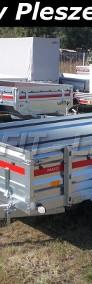 TM-242 przyczepa + wzmocnienia burt 263x125x46cm, Prakti 2612/2, lekka, towarowa, wysokie burty, DMC 750kg-3