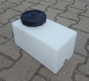 mały zbiornik pojemnik 5 litrów z polietylenu