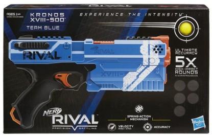 NERF RIVAL APOLLO XV 700 BLUE Blaster DUŻA Wyrzutnia na Kulki