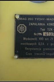 Zapalarka kondensatorowa Typ TZK-100 ; Emag Zeg Tychy-2
