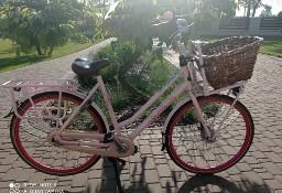 Rower miejski Gazelle Miss Grace pudrowy róż