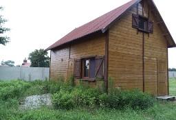 Bezpośrednio domek drewniany na wsi, 25 km od Wrocławia