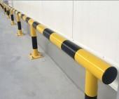 Odbojnica liniowa prosta barierka  zabezpieczająca