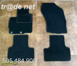 Hyundai IX 35 od 2010 najwyższej jakości dywaniki samochodowe z grubego weluru z gumą od spodu, dedykowane Hyundai