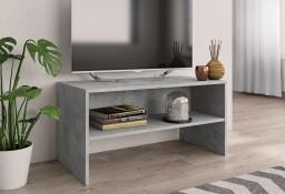 vidaXL Szafka pod TV, betonowy szary, 80 x 40 x 40 cm, płyta wiórowa 800058