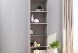 vidaXL 5-poziomowy regał na książki, szary, 60 x 30 x 189 cm800992