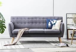 vidaXL 3-osobowa sofa tapicerowana tkaniną, 172x70x82 cm, jasnoszara247129