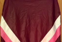 (36) Firmowa, skórzana, mini spódnica/spódniczka ołówkowa z Londynu/ NOWA