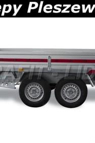 TM-086 przyczepa Transporter 3217/2C, 325x171x30cm, ciężarowa, towarowa, burty aluminiowe, DMC 2700kg-2