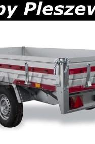 TM-086 przyczepa Transporter 3217/2C, 325x171x30cm, ciężarowa, towarowa, burty aluminiowe, DMC 2700kg-3