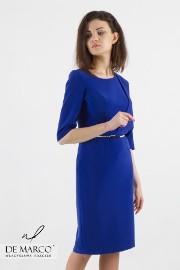 Szmaragdowa suknia ołówkowa maskująca niedoskonałości, Szycie na miarę De Marco