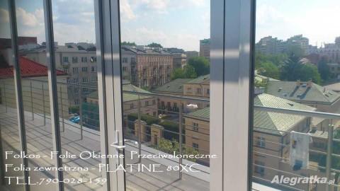 Folie przeciwsłoneczne na okna- Folia Platine XC- Przyciemnianie szyb