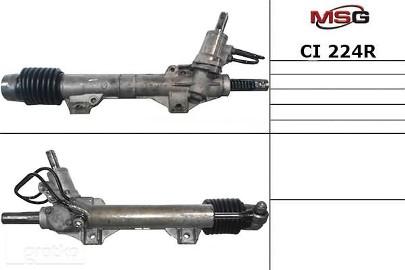 Przekładnia kierownicza ze wspomaganiem hydraulicznym Citroen Xsara CI224R