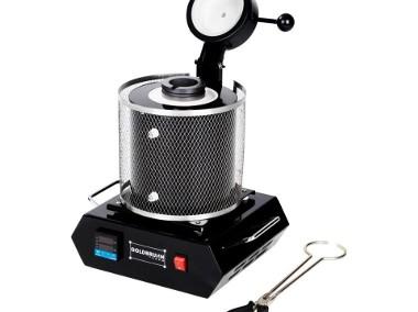 Profesjonalny piec tyglowy 2kg 1100°C 1900W-1